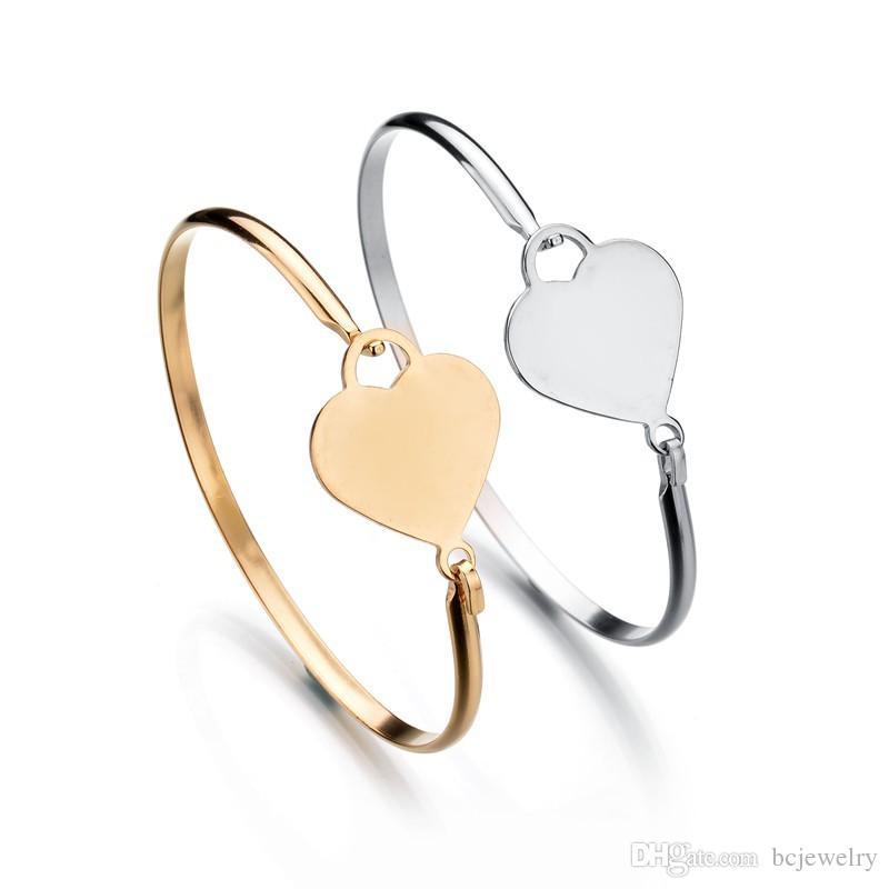 BC Personalized Personal Madri Braccialetti in oro colore 316L in acciaio inox Bracciale battito cardiaco le donne gioielli regalo