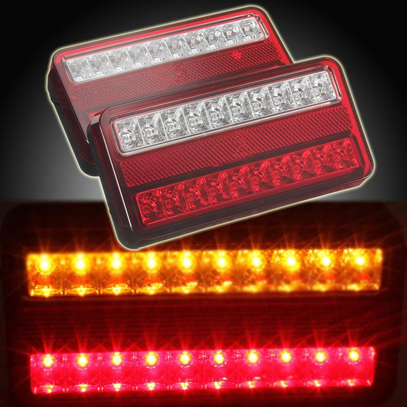 Online Cheap 20 Led 12v Tail Light Car Truck Trailer Stop Rear Reverse Auto  Turn Indicator Lamp Back Up Led Lights Turn Signal Lamp By Sara1688 |  Dhgate.Com