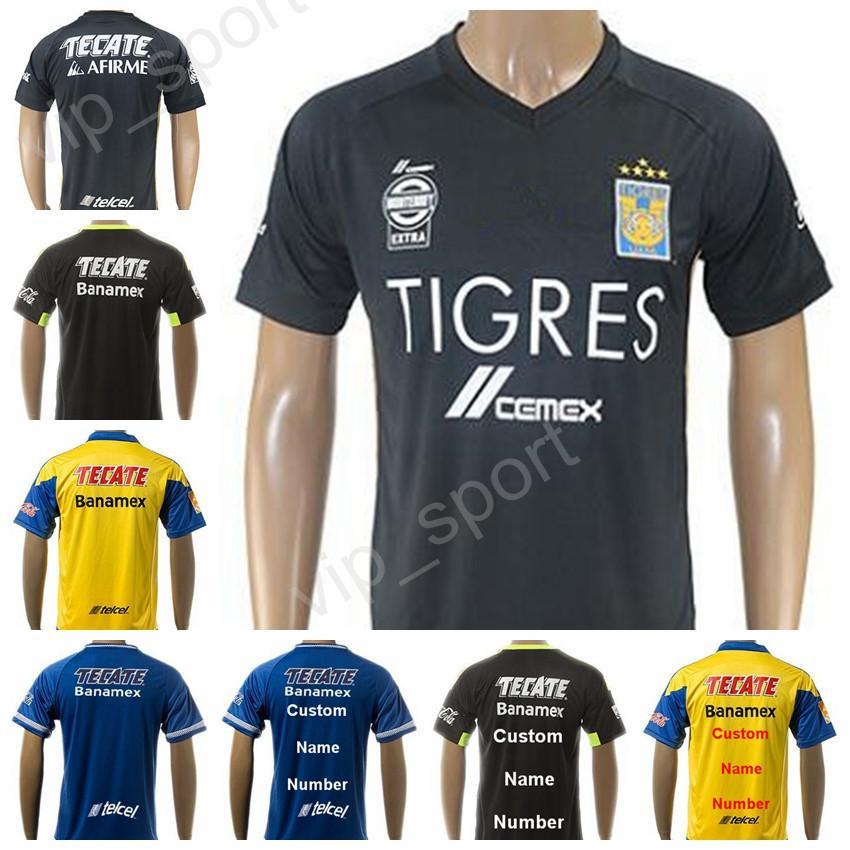 df7267a0843 17 18 mexico nuevo leon tigres uanl jersey soccer 10 andre pierre gignac  football shirt thai