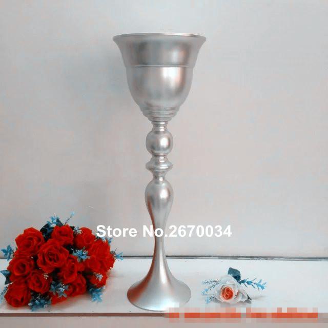ruban ou fer doré Trompette réversible grand mental vases pour centres de mariage