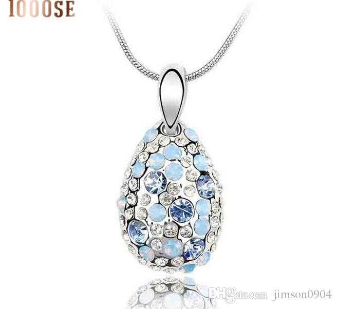 2017 nuovo 1000SE qualità merci donna collana di cristallo Cyclamen High-end ornamenti ciondolo vendita di gioielli all'ingrosso