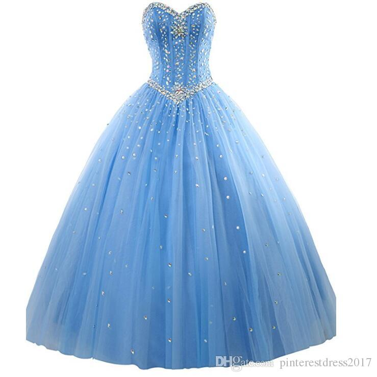 Sweet 16 Dresses 2017 Puffy Quinceanera Dresses With ...