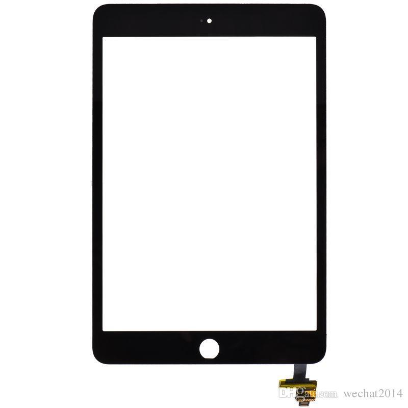 iPad Mini 3 ücretsiz DHL için IC Connector ile Digitizer ile Dokunmatik Ekran Cam Panel