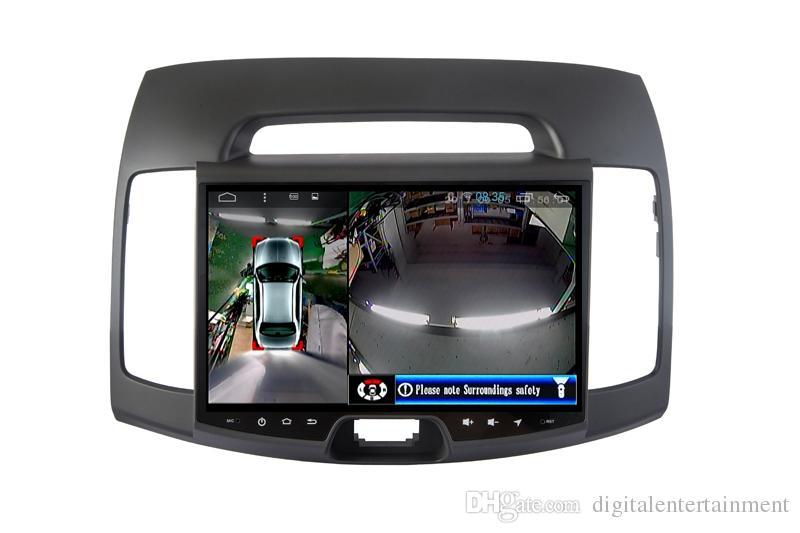 2018 360 Degrees Car Dvr 4 Camera System Video Surveillance ...