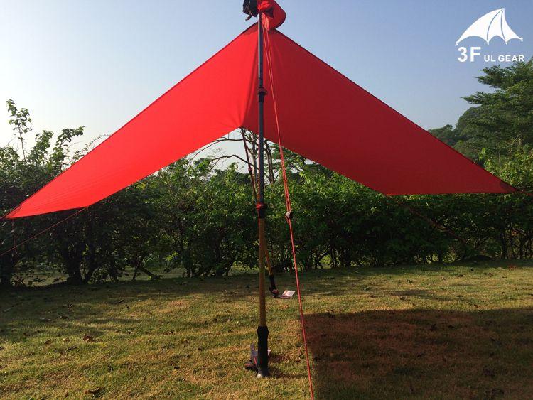 3F UL Gear Ultralight Tarp Lightweight MINI Sun Shelter Awning C&ing Mat Tent Footprint 20D Nylon Silicone 195g 210*150cm Sun Shelters Tent C&ing ... & 3F UL Gear Ultralight Tarp Lightweight MINI Sun Shelter Awning ...