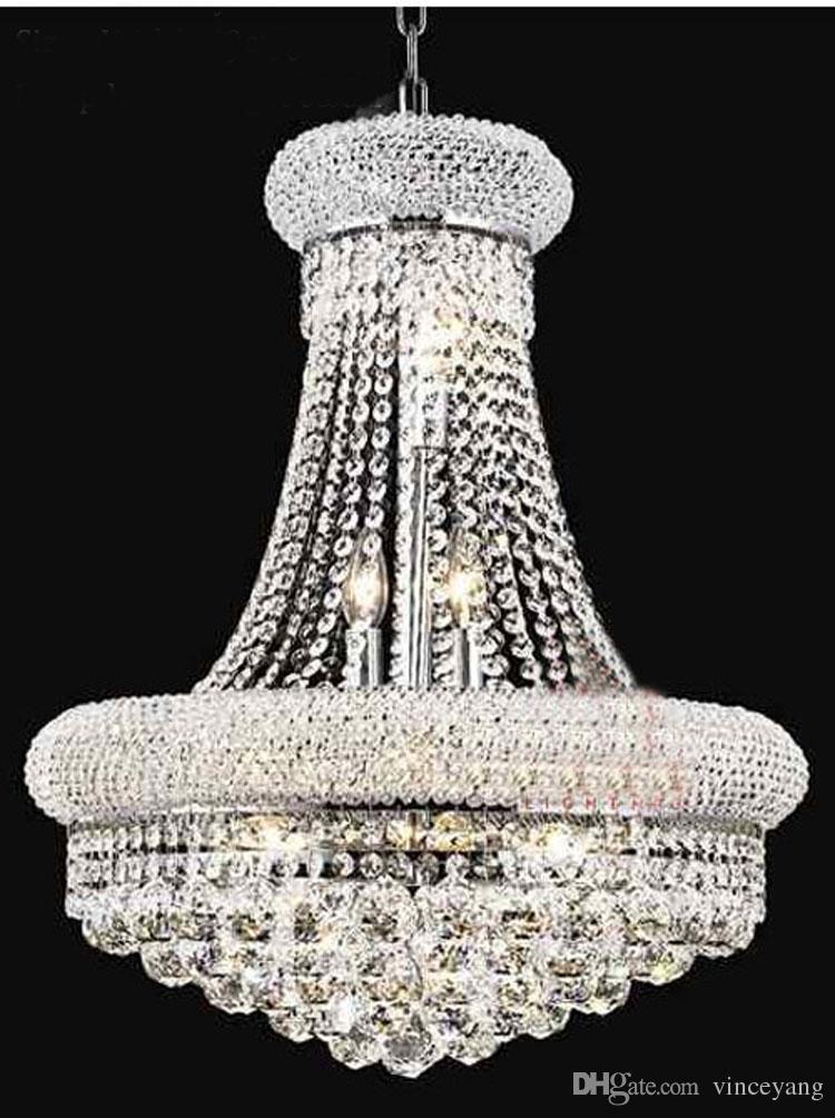 Compre phube lighting gold crystal chandelier lustre chrome compre phube lighting gold crystal chandelier lustre chrome chandeliers modern chandeliers light lighting envo gratis a 29749 del vinceyang dhgate aloadofball Gallery