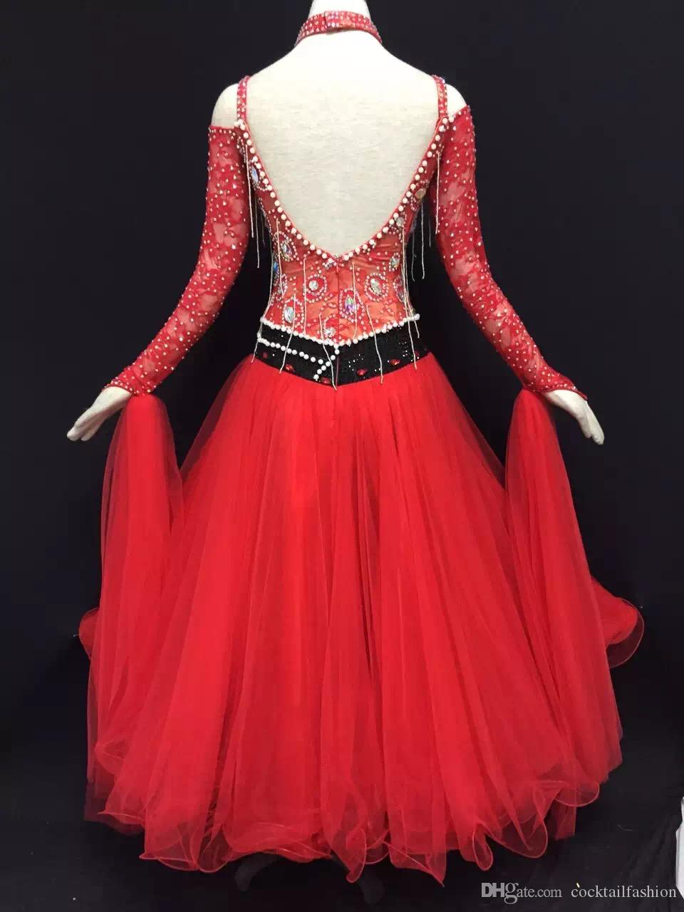 Red Dance Dresses
