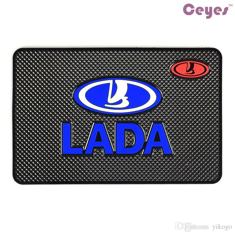 새로운 스타일 매트 인테리어 액세서리 LADA를위한 논 슬립 매트 케이스 이전 제품 더 많은 것들 안티 매트 자동차 엠블류 액세서리 스타일링