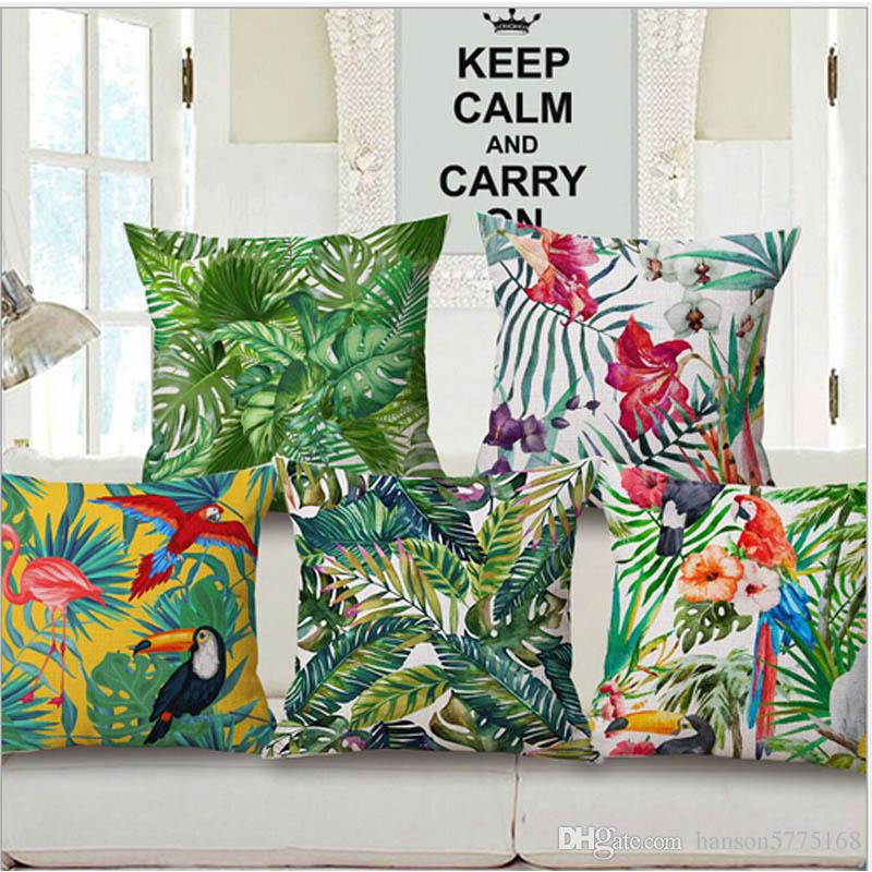 Tropical Cushion Covers Throw Pillow Chair Cushion Seat Pad Sofa Sofa And  Car Cushion Cover 24 Inch Outdoor Cushions Outdoor Patio Cushion From ...