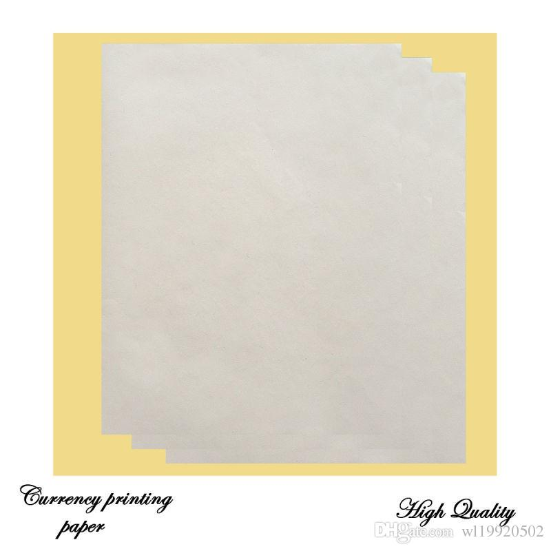 papier d'impression contrat 85gsm 8.5in * Papier bond 11po 75% coton 25% lin papier chaud vente aux États-Unis