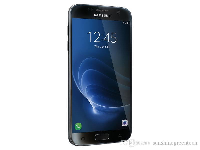 Remodelado Samsung Galaxy S7 G930 G930 G930 G930 G930 G930 G telefones celulares Desbloqueado 5.1 polegadas LTE Refurbished telefones 4 GB de RAM 32 GB ROM Celular