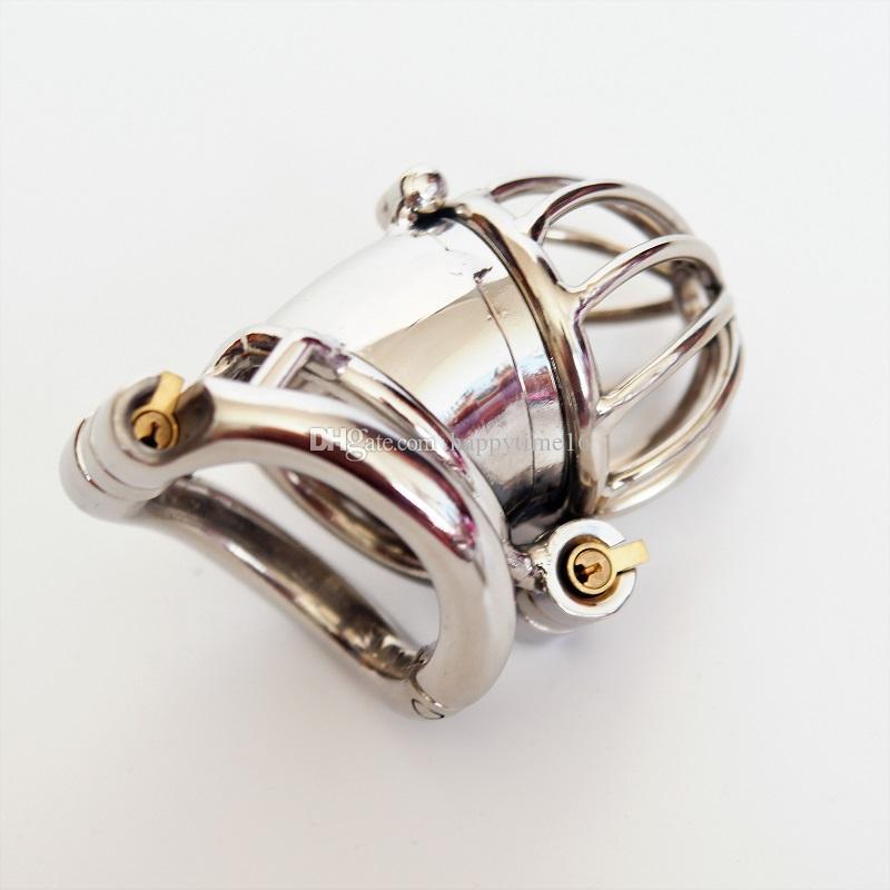 Il sesso maschio della serratura del cast di castità della gabbia del dispositivo di castità della gabbia del dispositivo di castità della nuova serratura 65mm ha prodotto del sesso del feticcio di SM
