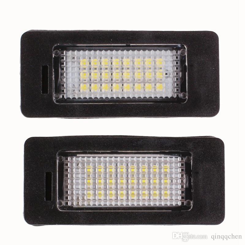 Error Free Car Led License Plate Led Light Lamp 12v White 6000K For BMW E39 E60 E82 E90 E92 E93 M3 E39 E60 E70 X5 E60 E61 M5 E88