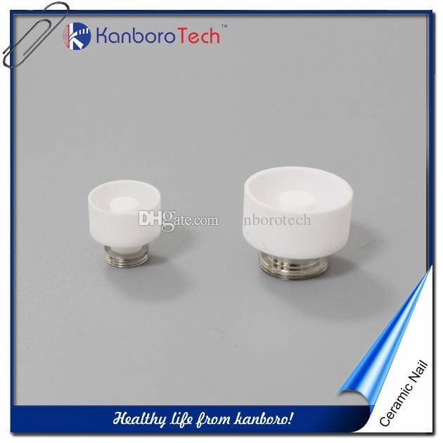 Haute qualité Kanboro Quartz Clou de titane en céramique pour la plate-forme de 510Nail Atomiseur ECUBE Vaporizer bobine Wax Vape Vaporizer E-cigarette