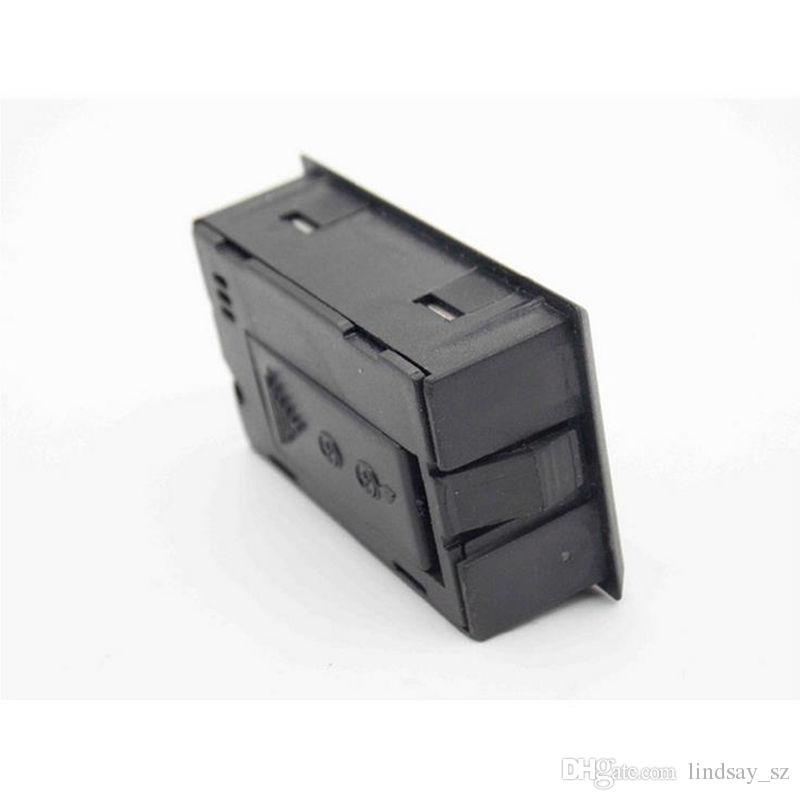 Yeni siyah / beyaz Mini Dijital LCD Çevre Termometre Higrometre Nem Sıcaklık Ölçer odada buzdolabı icebox