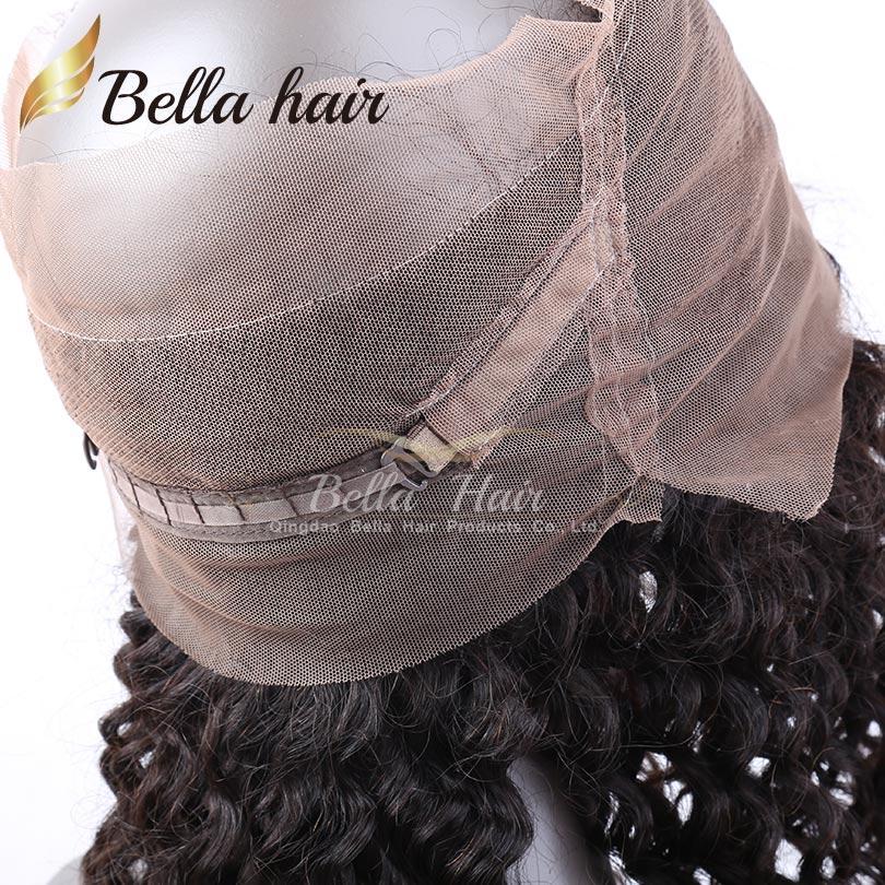 360 Cordón Frontal Brasileño Virginal Del Pelo 22 * 4 * 2 Frontales del Cordón Cierres 360 Cordón Banda Cierre Frontal Envío Gratis Bella Cabello
