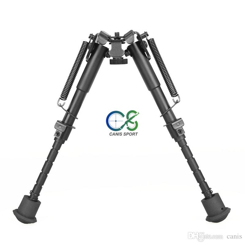 Tactical 6-9 Inch Bipod Auto Eject Metal Bipod Designed for Real Fire Caliber for Shooting CL17-0032
