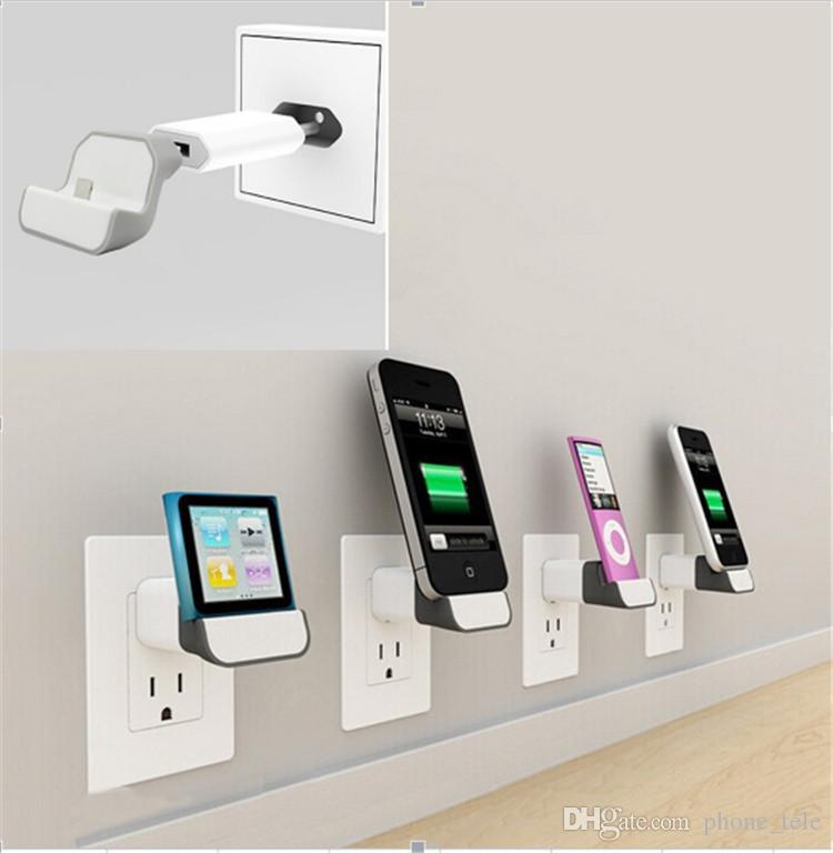 Usb Wall Charger Date Cable Holder Wireless Phone Charging
