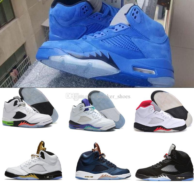8e64dfb7f7e3 air jordan retro 5 blue suede nz collection