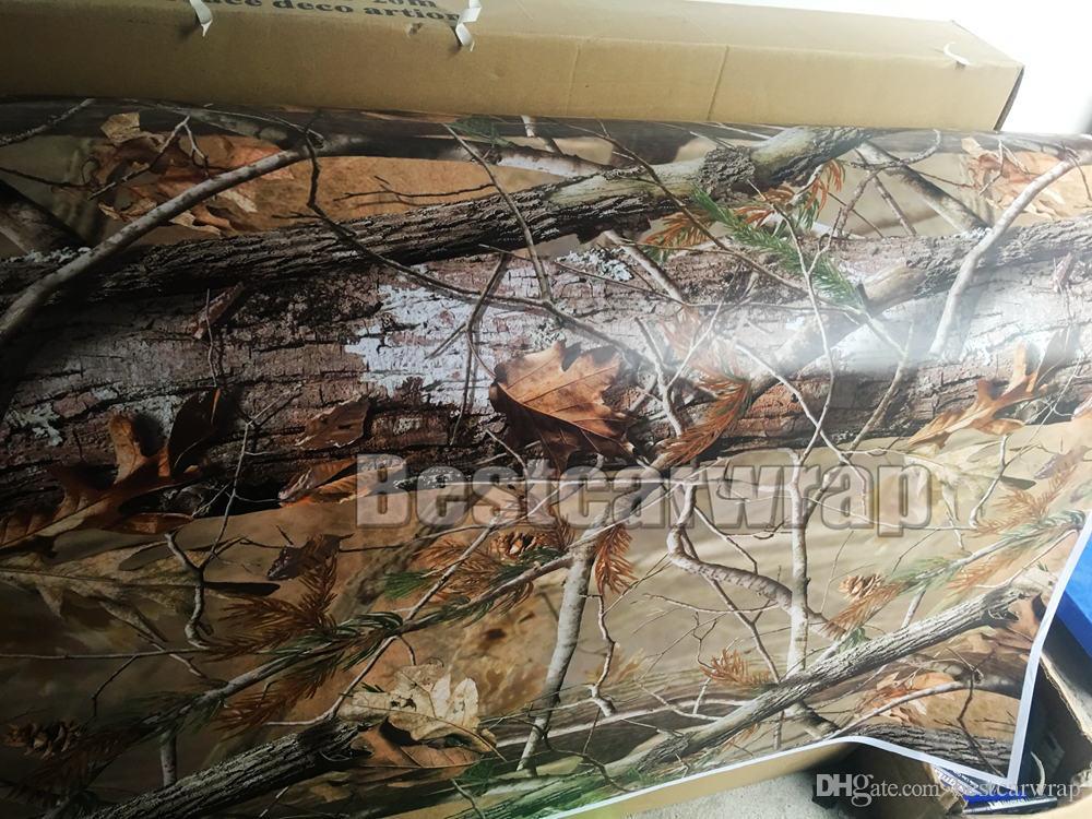 RealTree Camo Vinyl Wrap Mossy oak Tree Leaf Camouflage Car Wrap TRUCK CAMO TREE PRINT DUCK graphics design size 1.52 x 30m/Roll