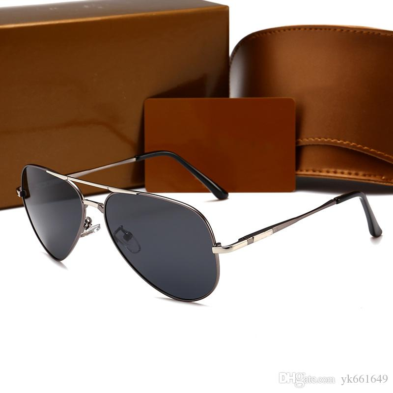Großhandel 2018 Italien Luxusmarke Gold Sonnenbrille Pilot Frauen ...