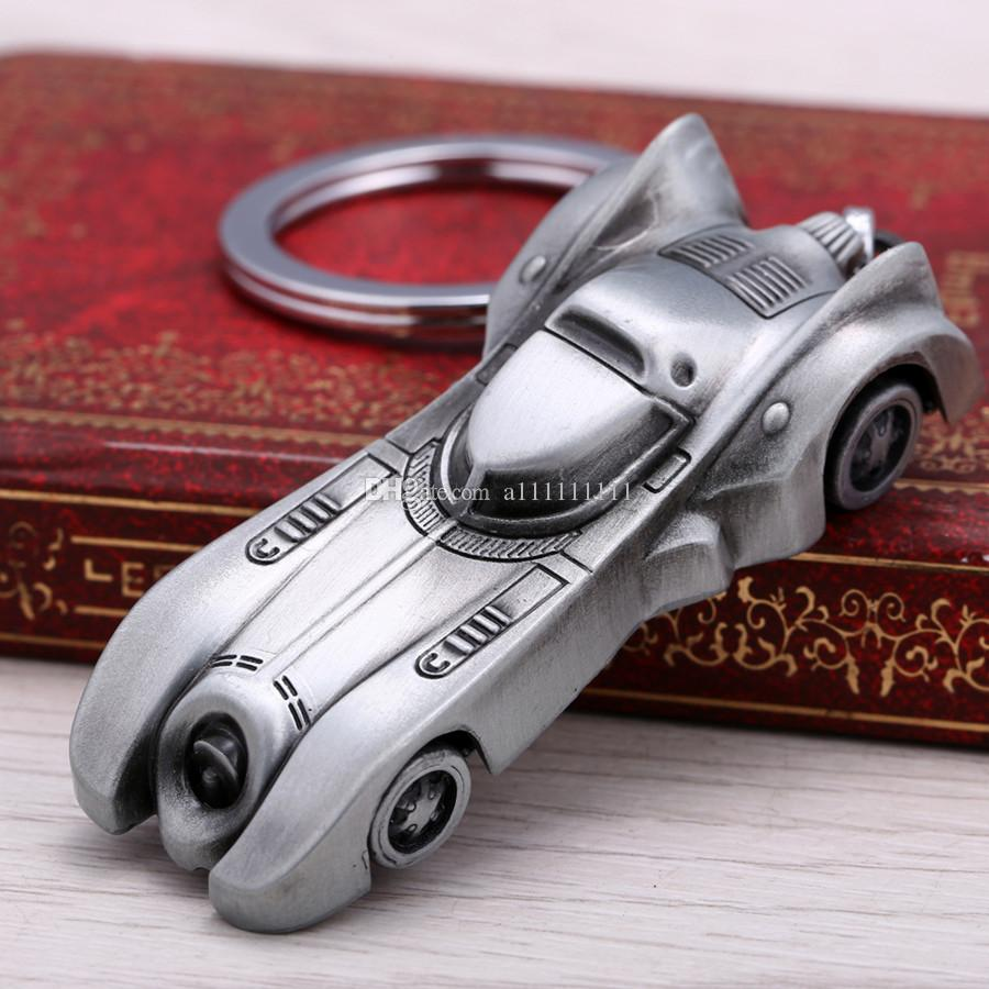 Hot New Batman Vs Superman Key Chain Car Pendant Keychain Alloy Key Ring Cartoon Keychain Gift