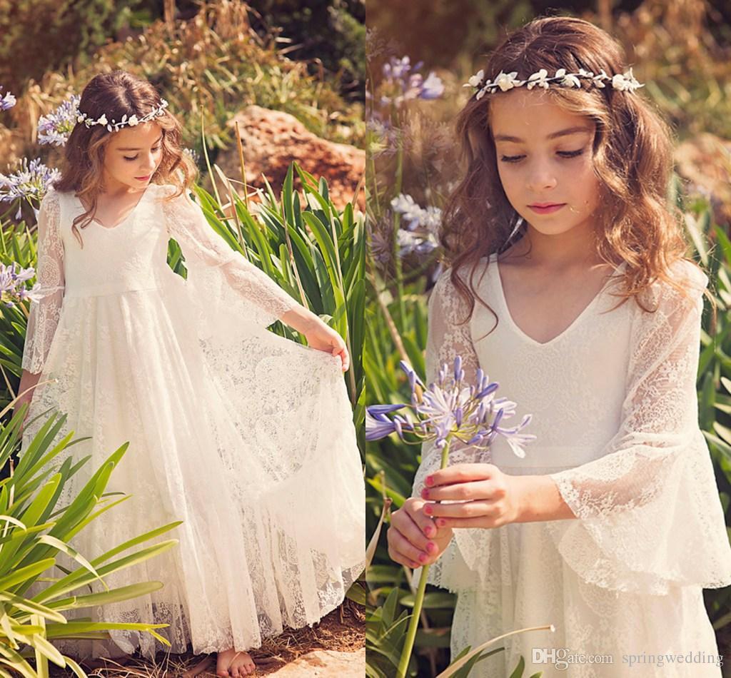 11 Year Old Flower Girl Dresses