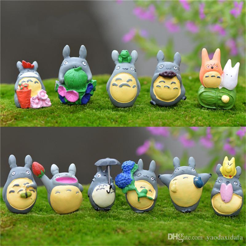 Superior 2018 New Miyazaki Totoro Figure Gifts Doll Miniature Resin Japanese Cute  Lovely Anime Home Garden Decor Random Send From Yaodaxidafa, $0.95 |  Dhgate.Com