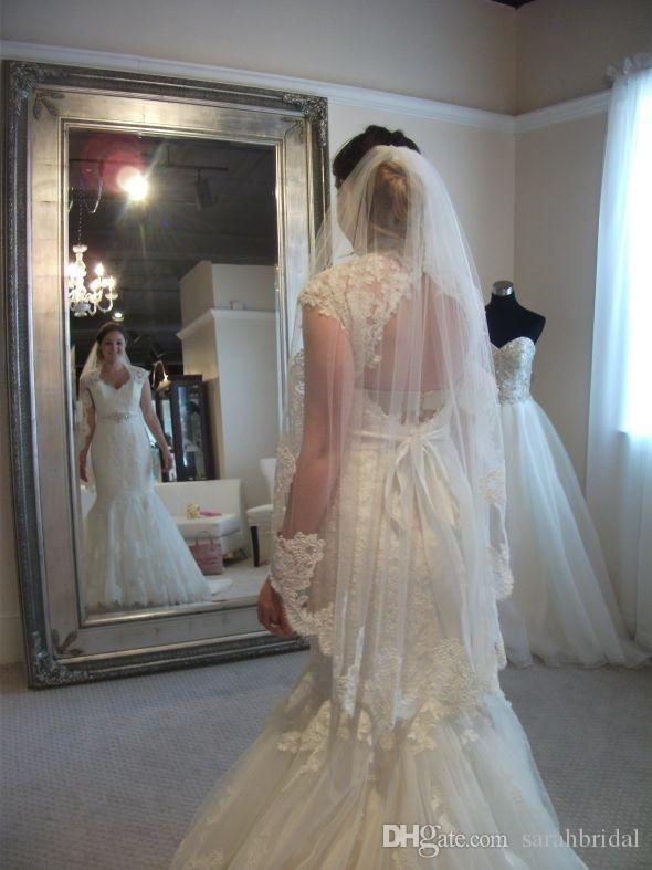 2019 bling mermaid Sheath modest nigerian victorian wedding dresses with train full lace 12y corset country wedding dresses from china