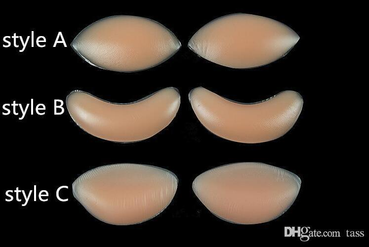 eb2d3e3af25 Breast Pad Chicken Fillets Silicone Breast Enhancers Bra Insert Pad ...