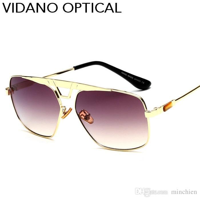 f3ef8150b9cae Vidano Optical New Arrival Luxury Class Square Sunglasses For Men   Women  Fashion Stylish Designer Sun Glasses Cool Party Eyewear UV400 Baseball  Sunglasses ...