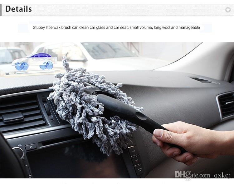 جودة عالية متعددة الوظائف سيارة منفضة تنظيف الأوساخ الغبار فرشاة تنظيف الغبار أداة ممسحة فرشاة الأرجواني