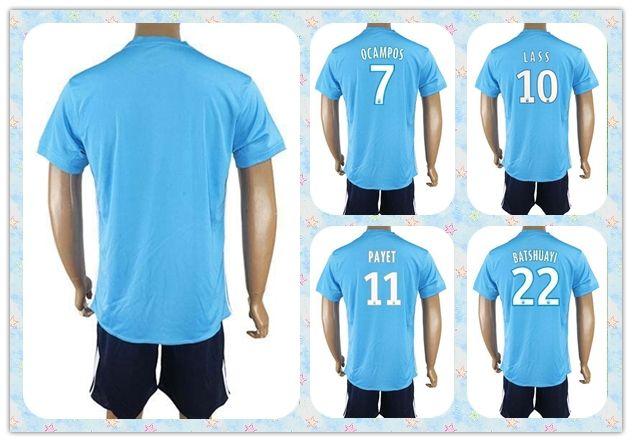 reputable site 08de6 8b2ab cheapest marseille 10 lass away soccer club jersey 99527 a0f31