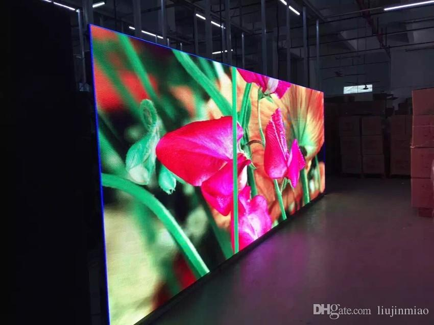 HERO 2017 P8 SMD Outdoor RGB Full Color LED display module DIP LED 1R1G1B 256*128mm 32*16 pixels BIG TV wall screen P3.91 P4 P5 P6 P4.81
