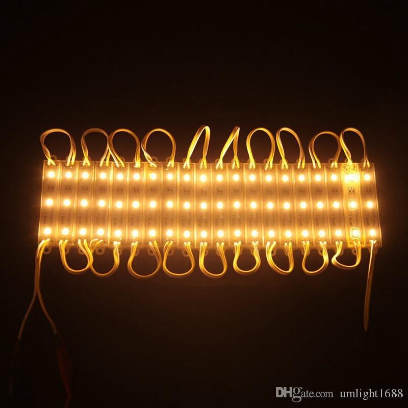 Umlight1688 LED وحدات ماء IP65 SMD 5630 SMD 5730 3 LED الصمام وحدة الإضاءة الخلفية للخلف أضواء الإعلان الخفيفة للتسجيل DC12V