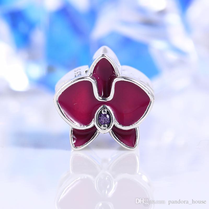 2017 Collection D'été Fit Pandora Charmes Bracelet Authentique 925 Sterling Argent Cubique Zircone Charmes Européens Perle DIY Mode Bijoux