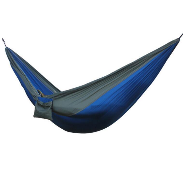 Hot 2 People Portable Parachute Hammock Camping Survival Garden Leisure Hamac Travel Double Person