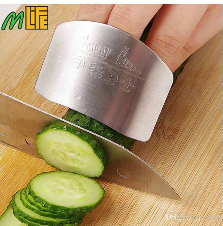 kitchen must have cooking tools stainless steel finger hand protector guard personalized design chop safe slice knife cool kitchen tools and gadgets - Must Have Kitchen Gadgets