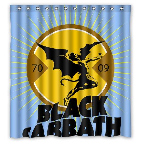2018 Band Black Sabbath Custom Made Personalized Waterproof Shower Curtain Bathroom Curtains 66x72 Inches From Dhkey2014 3517