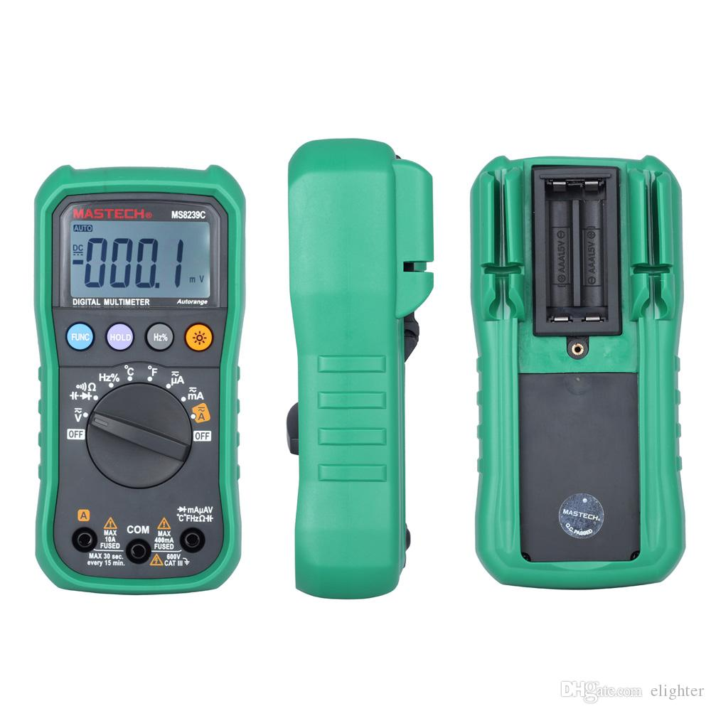 Digital Multimeter LCD AC//DC Ammeter Resistance Capacitance Tester