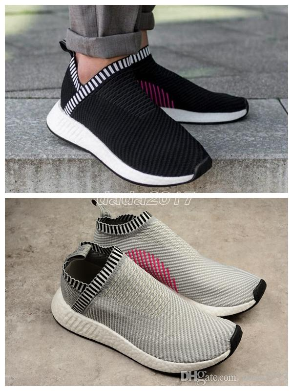Nmd Cs2 Primeknit Shock Ronin Pink City Sock 2 Shoes Sports Women And Men  Running Shoe Spring/Summer 2017 Sneakers Ultra Boost 36 44 Womens Trail  Running ...