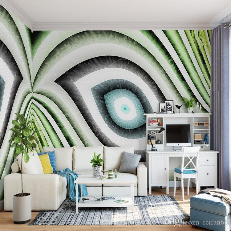 10d4620cc28 Compre Feifan Fondo De Pantalla Personalizado 3D Moderno TV Fondo Sala De  Estar Arte Abstracto Murales 3D Papel Pintado Pared Geométrica A $27.14 Del  ...