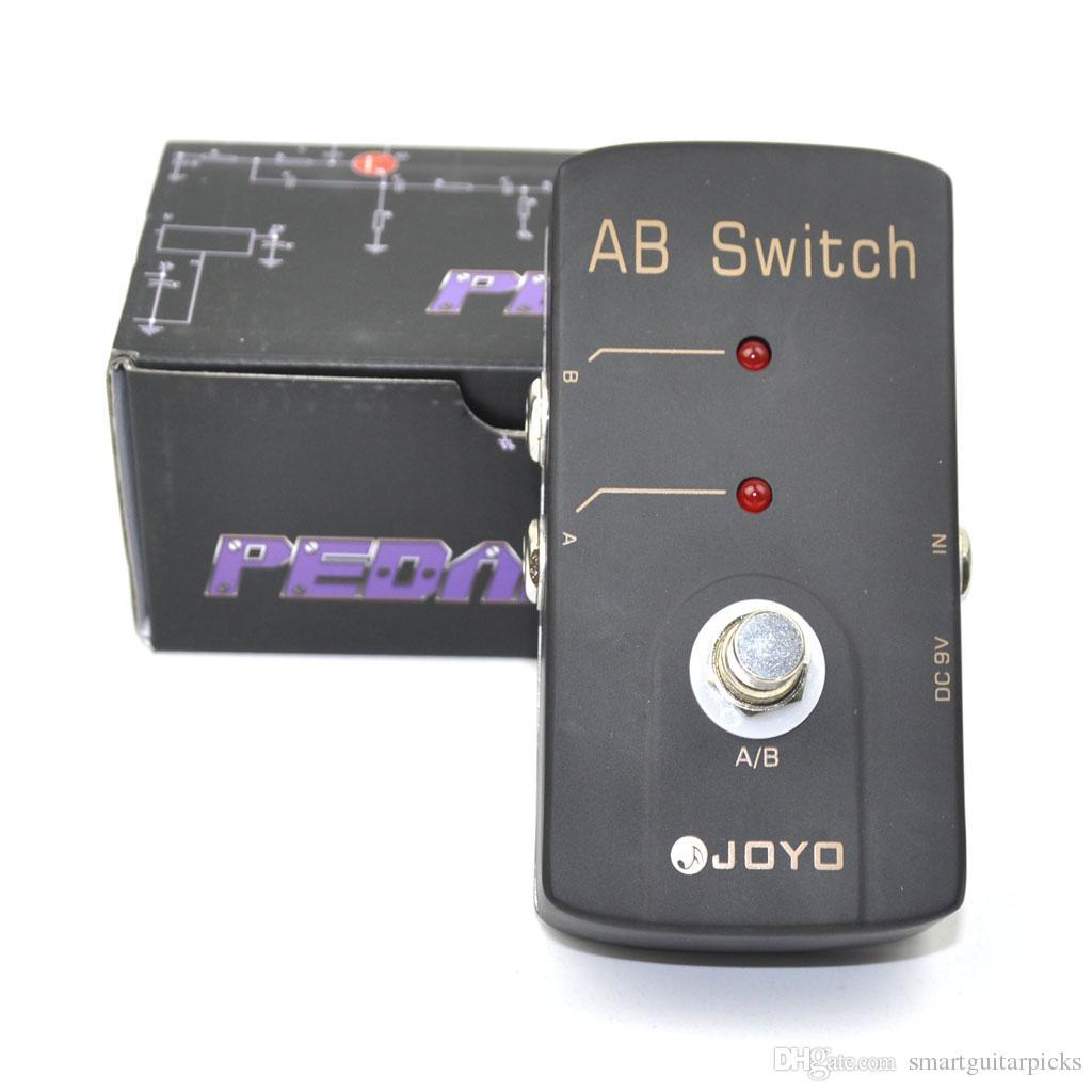 JOYO JF-30 A/B Switch Electric Guitar Effect Pedal LED Indicator