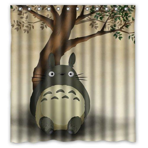 2019 Custom My Neighbor Totoro Shower Curtains Polyester Durable Fabric Waterproof BathCurtain 66x72 Inch From Bestory 2614