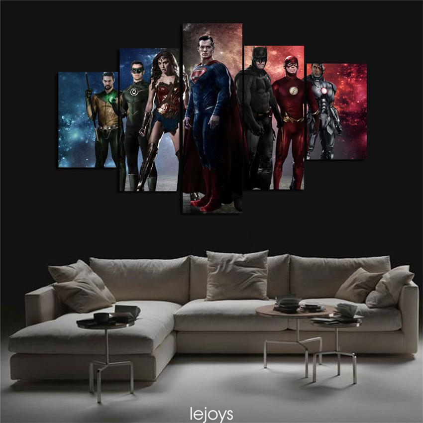 Justice League Batman Vs SupermanHome Decor HD Printed Modern Art Painting On Canvas Unframed Framed From Q652398773 1538