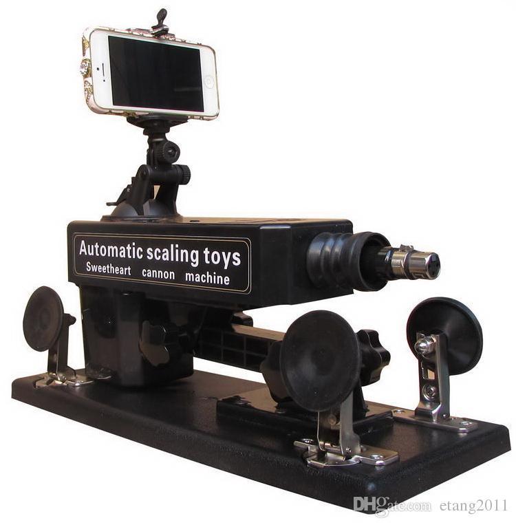 Mitrailleuse / canon automatique de sexe avec la grande machine de masturbation de meubles de sexe de gode pour la vitesse de déplacement femelle 0-450 / minutes à télécommande