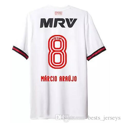2019 Best Thai Quality 17 18 Flamengo Away White Soccer Jersey Flamengo  Soccer Shirt MARCIO ARAUJO DIEGO GUERRERO Football Shirt From  Bests jerseys 280ace2a1