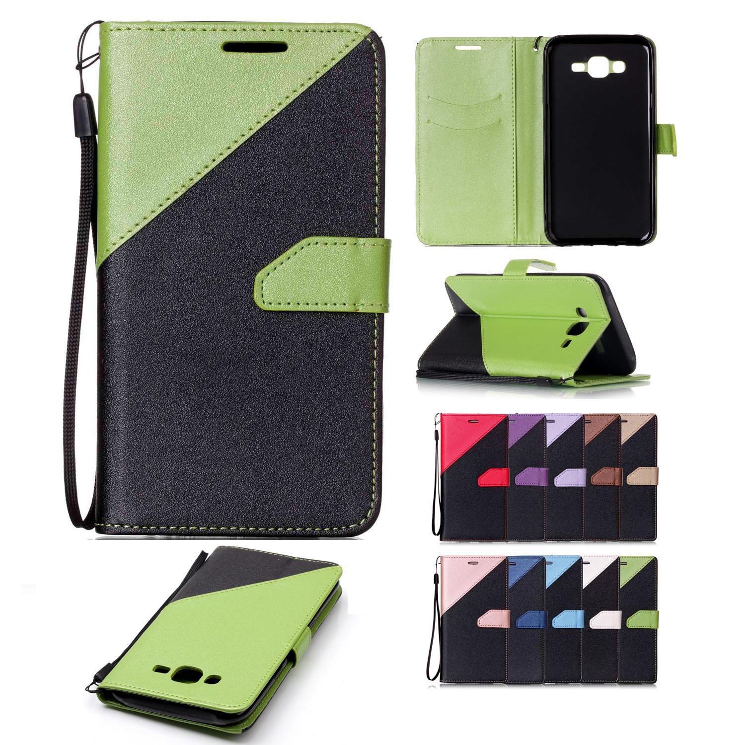 more photos 6ddad 2c89b For Samsung Galaxy J7 Wallet Cases Covers PU Leather with Card Slot Hand  Strap Sand Beach Surface Design