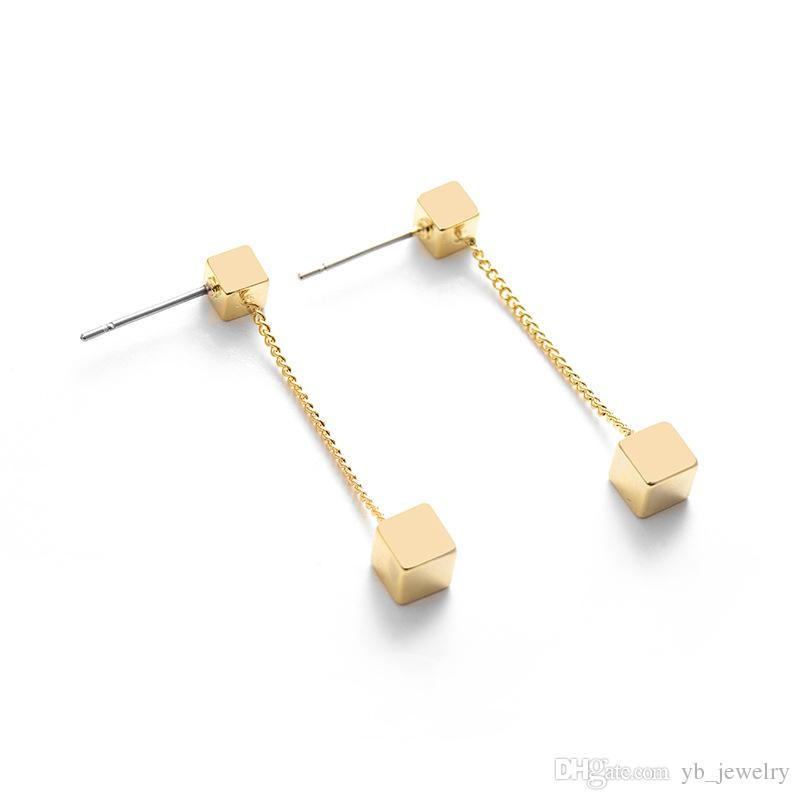Excellent 2019 Yc Top Quality Copper Plated 14 K Gold Stud Fashion Contracted Wiring Digital Resources Bemuashebarightsorg