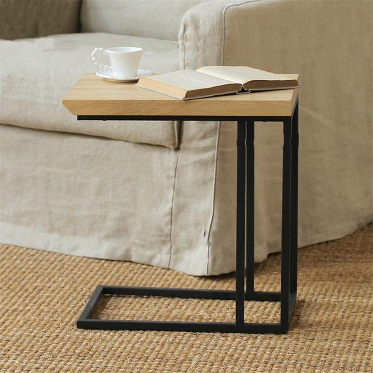 Corner Bedside Table 2017 type, wrought iron wood coffee table, side table a few corner